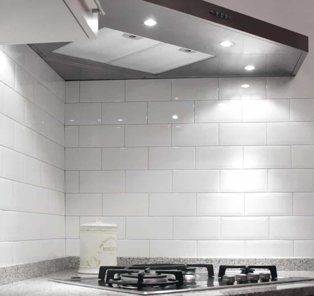 Diamante rivestimento cucina bianco mosaico 2 musis ceramica - Mosaico rivestimento cucina ...