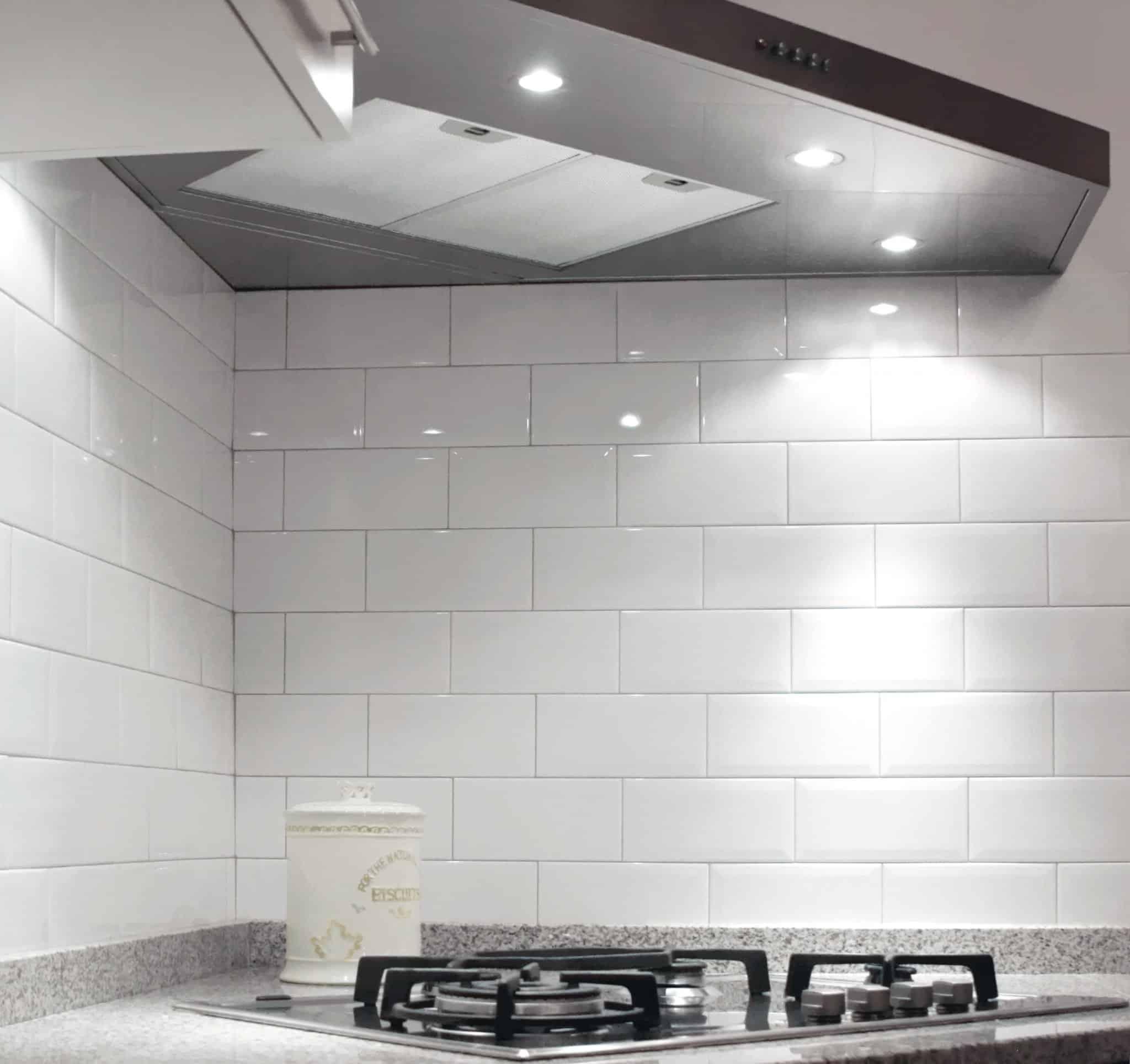 diamante rivestimento cucina bianco mosaico 2 - Musis Ceramica