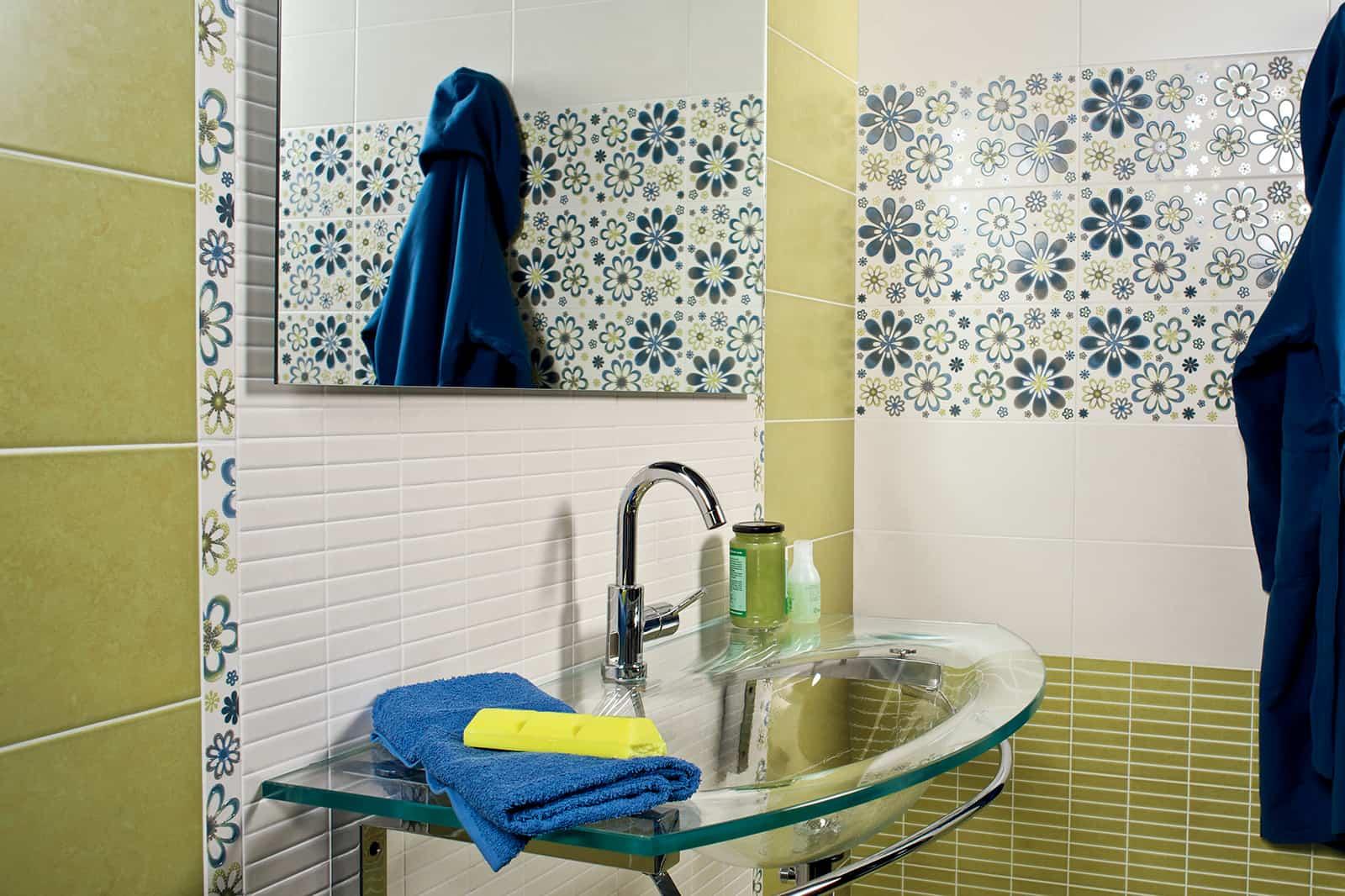 Rivestimento Bagno Verde Mela : Piastrelle bagno verdi good excellent colori e idee per arredare