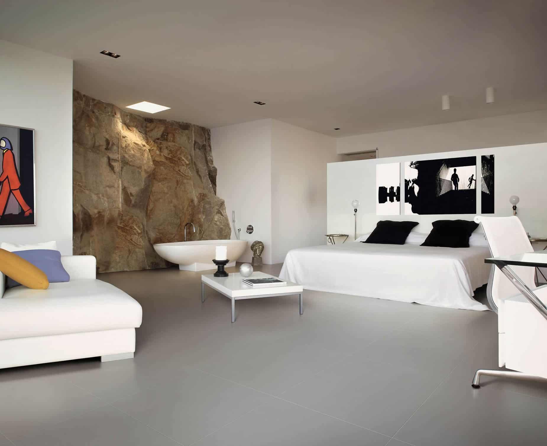 Pavimento Grigio Antracite : Bagni moderni con pavimento scuro finest amazing bagno con