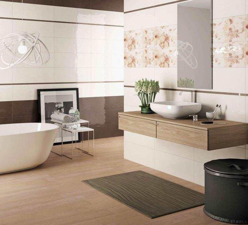 bagno moderno » rivestimenti bagno moderno colorato - galleria ... - Bagni Moderni Beige