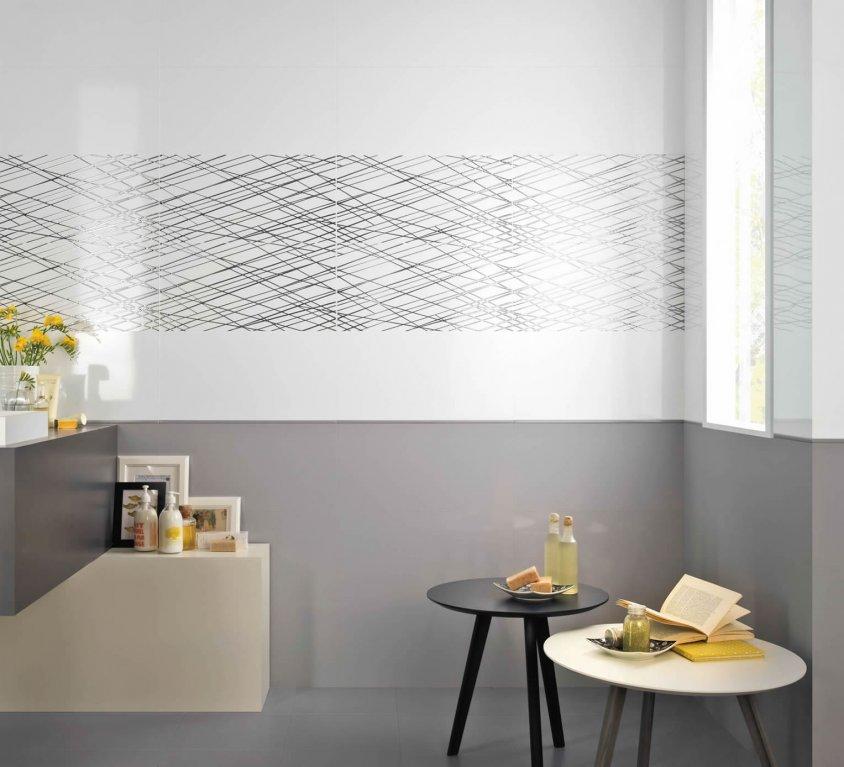 Bagno Minimal Bianco Rivestimento Nero Interior Design : Pavimenti e rivestimenti gres porcellanato mosaici