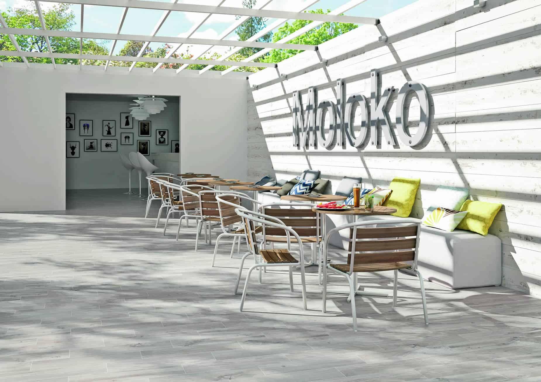 Serie sundeck pavimenti e rivestimenti musis - Piastrelle simili al parquet ...