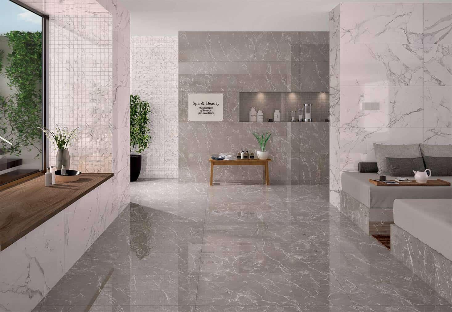Pavimento Finto Marmo Lucido serie deluxe - pavimenti e rivestimenti - musis