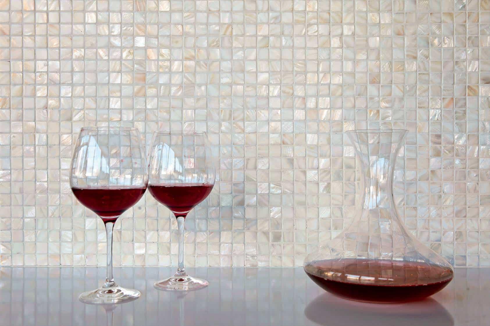 Mosaico serie perla mosaici musis ceramica for Mattonelle mosaico cucina